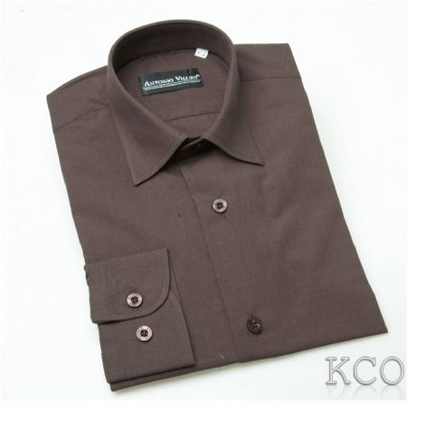 Regular Shirt Brown